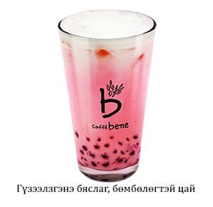 Strawberry Cheese Bubble Tea